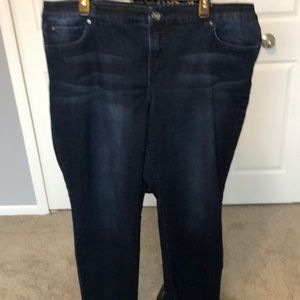 INC skinny leg woman's jean with multiple pockets